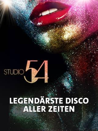"""Die New Yorker Disco """"Studio 54"""" war in den 1970er Jahren das zweite Zuhause der größten Stars von Hollywood. Die Doku über den legendären Club entführt in eine Epoche von Eskapismus, Eleganz und gnadenloser Dekadenz."""