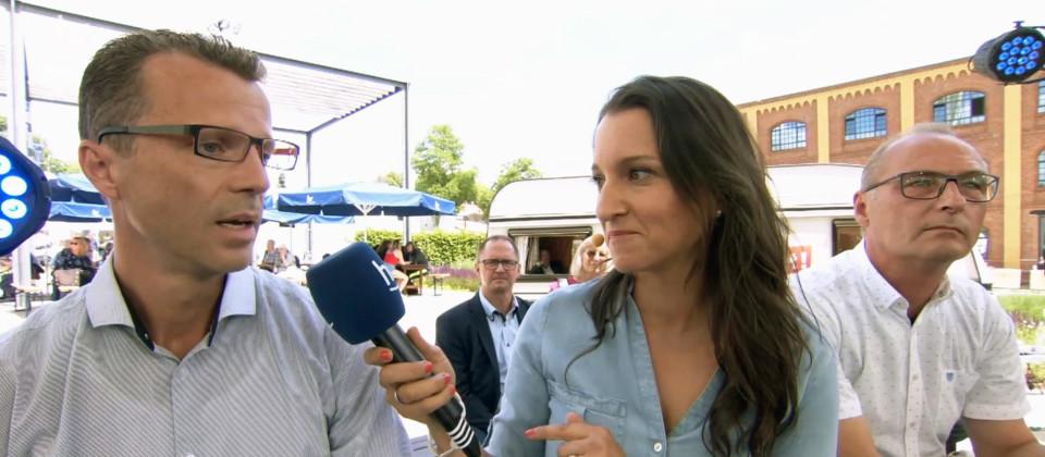 Interview in der Sendung