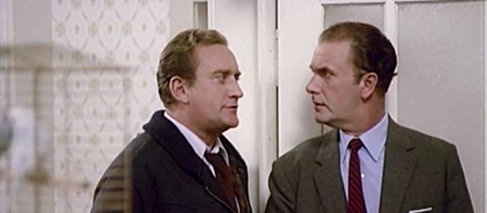 Die beiden Tatortkommissare Peter Liersdahl und Horst Schäfermann