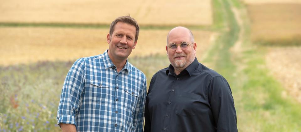 Jens Hübschen (li.) und Frank Brunswig