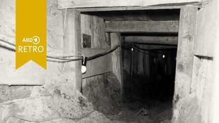 Fluchttunnel unter der Berliner Mauer.