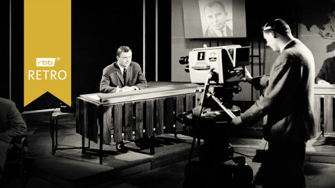 Fernsehstudio (Quelle: rbb/imago images/United Archives)